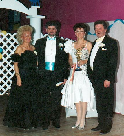 Photo prise lors d'un concours de danse a Baie-Comeau.
