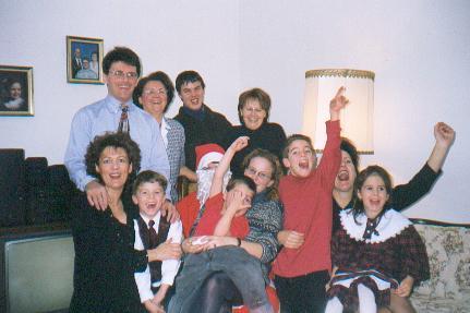 La petite famille de Victoria.